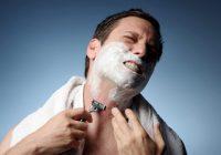 Hautirritation nach Rasur