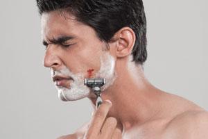 nylonsex rasieren geschnitten blutung stoppen